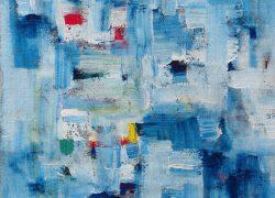 01 Composizione in Blu, 1987