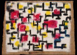 03 Composizione in giallo e rosso, 1987